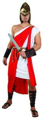 Mens Roman Costume Spartan Warrior Soldier Fancy Dress - Spartan Outfits