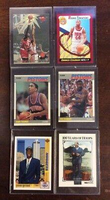 Nba Basketball 6 Card Lot Hard Plastic Shoptradingcards Com