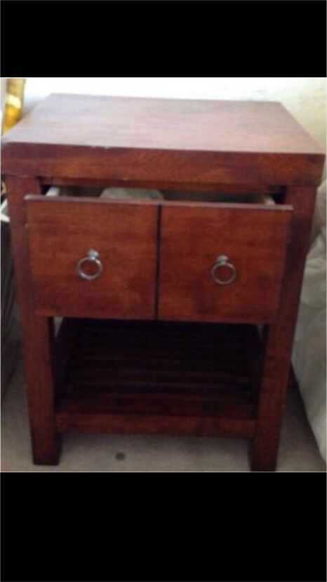 Modern Shabby Chic Bedside Table