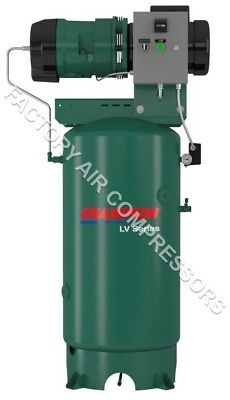 Champion Lvr05 Rotary Air Compressor 100 Duty Cycle 7.5 Hp 1 Phase 80 Gallon