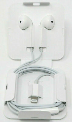 NEW Apple OEM iPhone 7/8/X/XR/XS/MAX Earpods Headphones with Lightning Connector