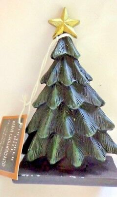 NWT OCTOBER HILL CHRISTMAS TREE MINI CHALKBOARD PLACE CARD HOLDER BUFFET LABEL  ()