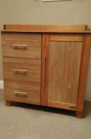 Kiddie Style Solid Wood Changing Unit