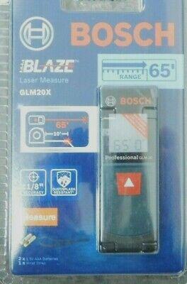 Bosch Blaze Glm 20 X 65ft Laser Measure