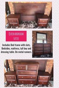 Solid Wood queen bedroom set Capalaba Brisbane South East Preview