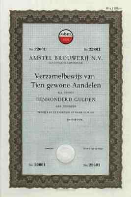 AMSTEL Brauerei 1966 Amsterdam Heineken Puerto Rico 1000 Gulden Gold Race