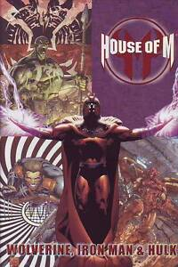 House of M Wolverine Iron Man & Hulk hardcover Marvel Comics