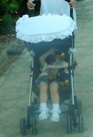 Sun canopy for buggy