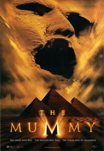 THE MUMMY movie poster BRENDAN FRASER, RACHEL WEISZ 11.5 x 17 inches