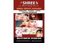 Shree Hair And Beauty Salon, Mobile Beauty Therapists