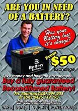 Reconditioned Batteries Direk Salisbury Area Preview