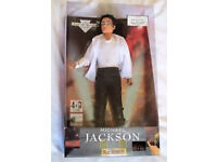 Super Rare Michael Jackson Black Or White Singing Doll In Original Box