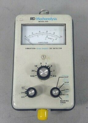 Ird Mechanalysis - Model 810 Vibration- Spike Energy Se Dectector   4g