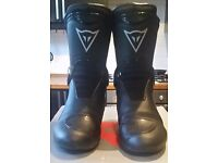 Dainese ST TQR Tour Gore-Tex Waterproof Motorcycle Boots Black Euro: 41 UK: