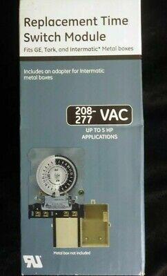Ge Tork Intermatic Jasco Replacement Time Switch Module 208 - 277 Vac
