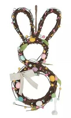 Cekebrate Easter Together Artificial Egg LiED Light-Up Bunny Rabbit Wall Decir