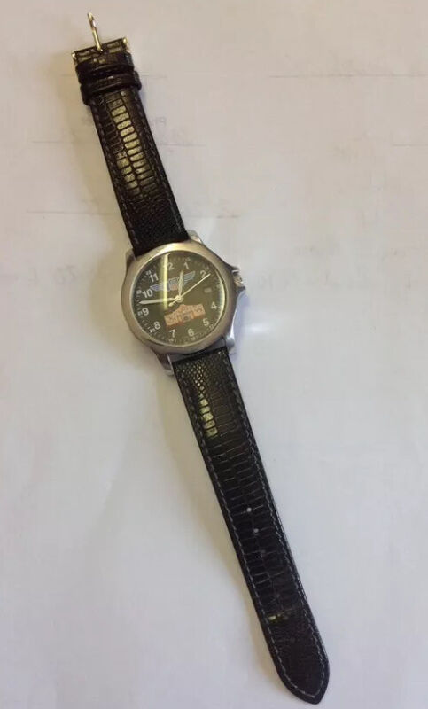 Vintage Union Pacific Railroad Alamo Service Unit Texas Wrist Watch UPPR Watch