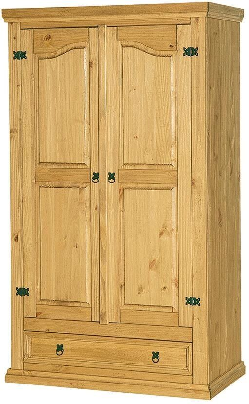 Corona Pine Double Wardrobe with Drawer