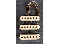 Fender Stratocaster USA standard single coil pickups