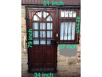 Iron door gate / window