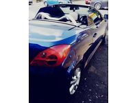 Vauxhall Tigra convertible 2 seater. Blue *LOW MILEAGE*