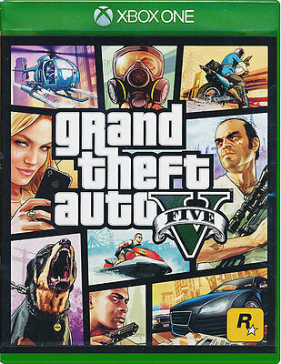 Grand Theft Auto 5 - Xbox One Game - GTA V - New & Sealed