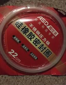 Pressure cooker seal 22cm (New still sealed)
