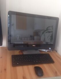 dell all in one touch screen computer