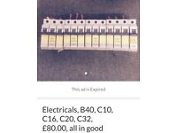 A selection of electrical materials, all in excellent condition, for £100 ono.