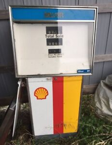 Shell double sided gas pump