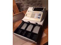 Electronic cash register shop till