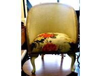 Beautiful child's Lloyd Loom style chair
