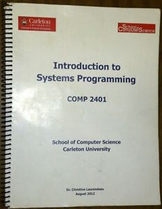 Introduction to Software Engineering (Comp 2401) Course pack