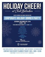 Looking for a Holiday Party location?