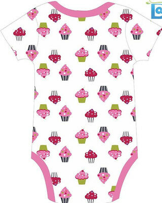 Cupcakes Adult Romper Onezie Bodysuite Diaper Shirt Snap Crotch - Romper Adult