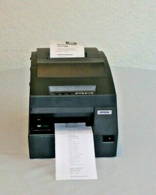 Epson Tm-h6000iii M147h Thermal Point Of Sale Receipt Printer With Power Supply
