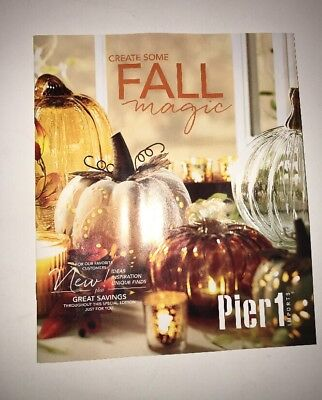 PIER 1 IMPORTS Fall Magic 2017 Catalog Home Decor 31 Pages Halloween Home NEW