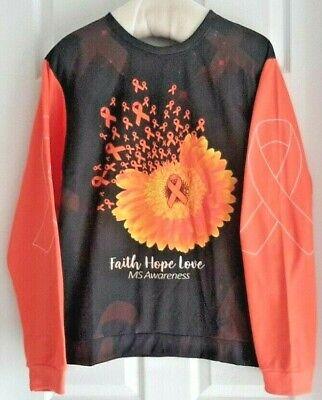 Ms Awareness Shirts (Men's/Unisex Multiple Sclerosis Awareness L/S T-Shirt Support MS Awareness )