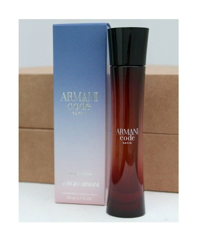 NEW Giorgio Armani ARMANI Code SATIN 50ml Eau De Parfum Spray   in ... 9c717a5331c1