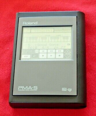 Roland PMA-5 vintage touchscreen battery-powered sequencer and sound module