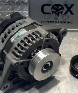 SRT4 DCR Dodge Neon Alternator Under Drive Pulley. 6061 Aluminum With Belt 03-05