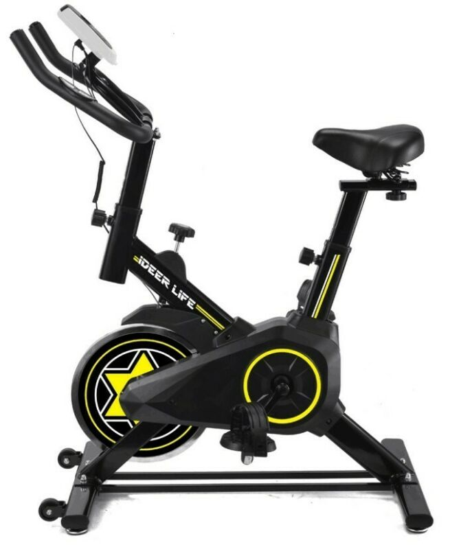 Indoor Cardio Cycling  Exercise Spin Bike Bicycle Stationary