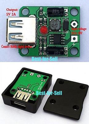 DC 6V-20V 18V to 5V 2A USB Solar Panel Power Charger Regulator Folding bag/ Cell