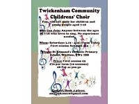 Twickenham Community Children's Choir (TCCC)