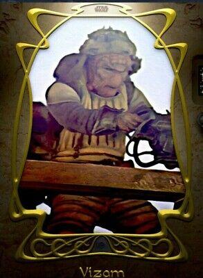Topps Star Wars Card Trader Digital Court of Jabba The Hutt W1 GOLD Vizom