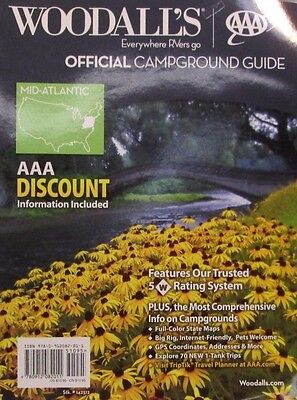 New      Woodalls  2012  Mid Atlantic   Campground Guide     New     New