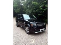 Range Rover Sport Autobiography in Black
