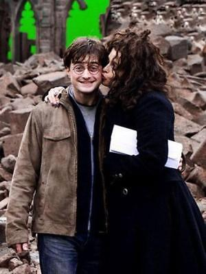 NEW 6 X 4 PHOTOGRAPH BEHIND THE SCENES HARRY POTTER 16