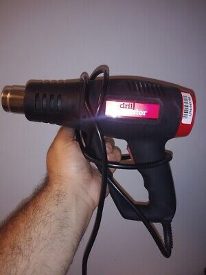 Drill Master Corded Electric Dual Temperature Heat Gun 1500w 120v Thaw Paint