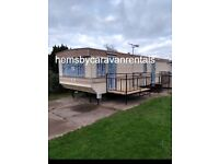 Two Caravans for Hire/Rent at Hemsby near Great Yarmouth Norfolk